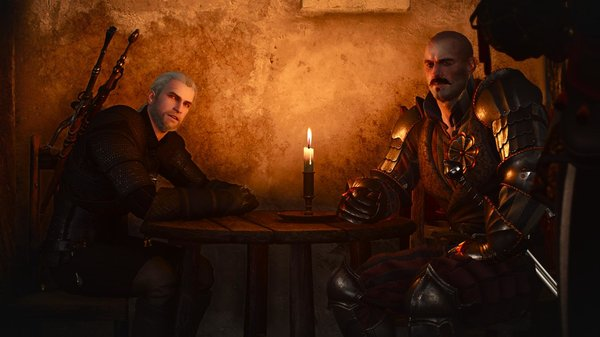 Беседа при свече.. Ведьмак III (сборка Торна)