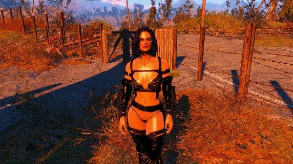 """Бикини """"Черная роза"""" ))) Fallout-4 (Сборка 6.4)"""