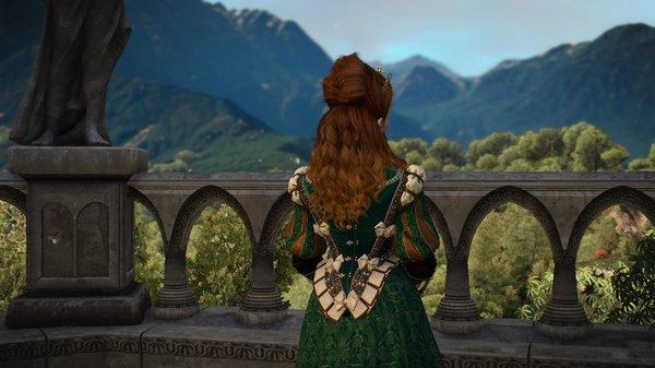 Дивный пейзаж.. ;) Ведьмак III (сборка Торна)