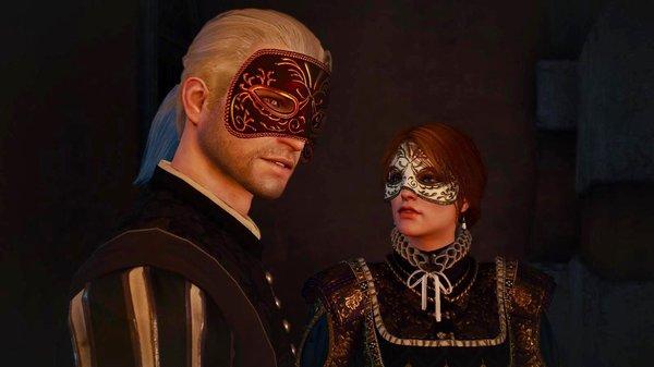 Геральт и Анна.. Ведьмак III (сборка Торна)