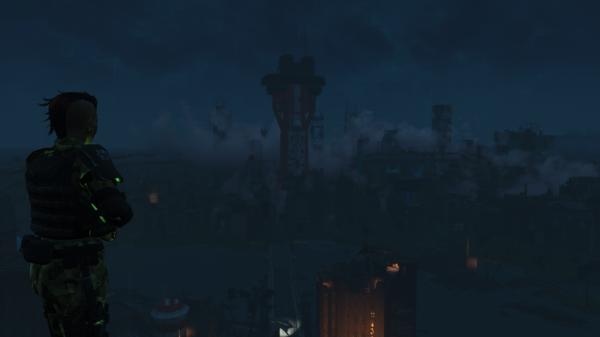 Виды ночного Бостона