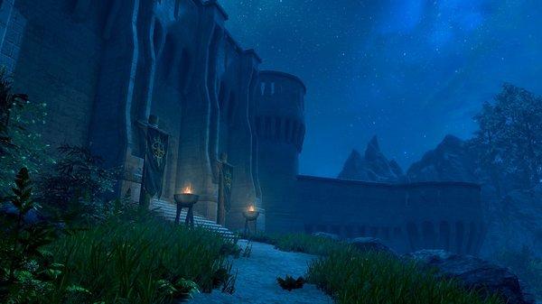 Форт Стражи Рассвета - ночью.. SkyrimSE (сборка 6.0)