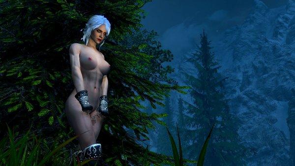 ЦИРИ: зябко ночью в лесу.. SkyrimSE (сборка 6.0)