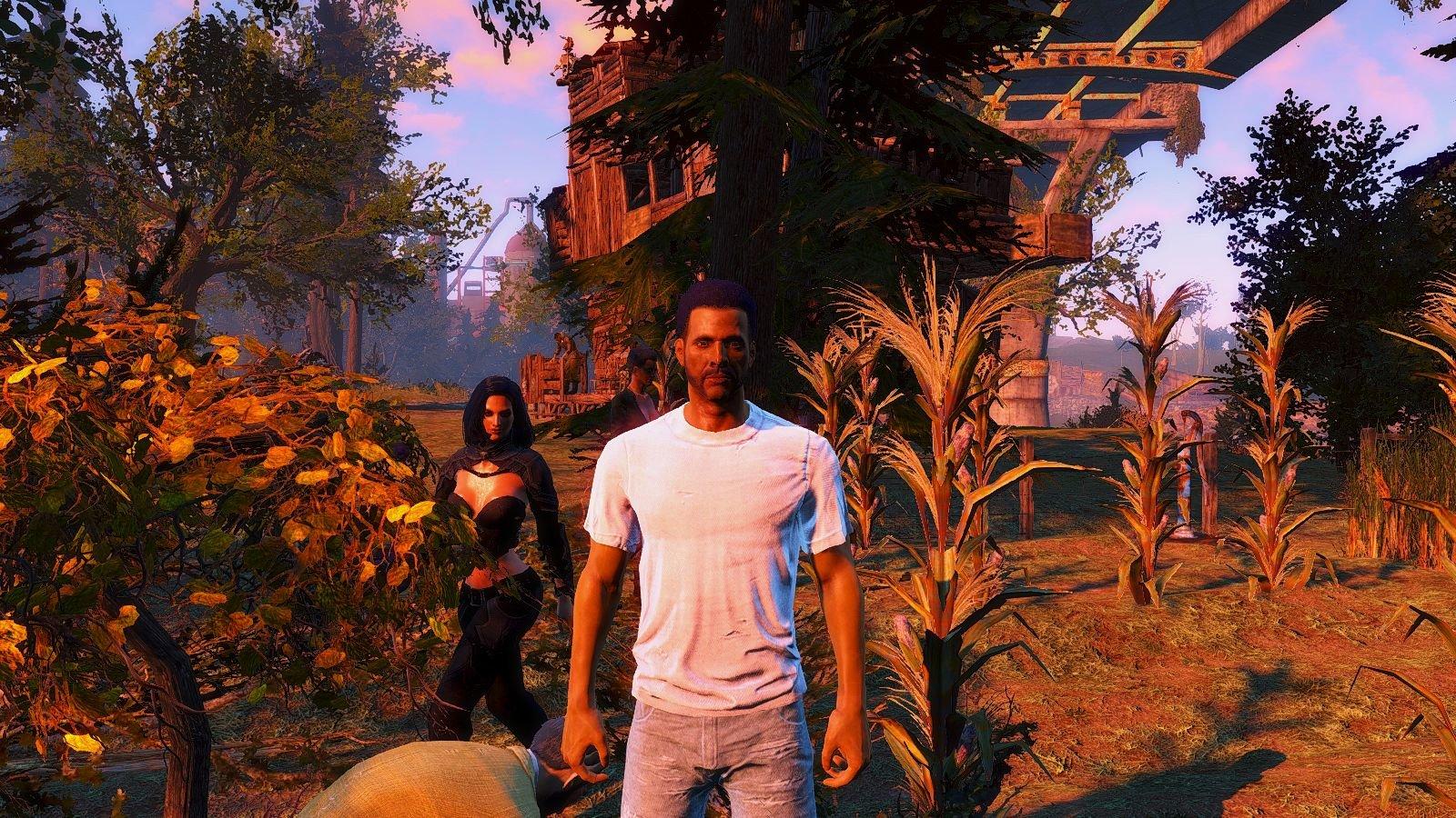 На ферме Финча.. Fallout-4 (Сборка 6.4)