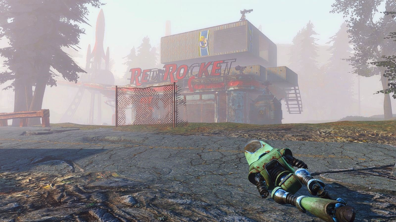 Утро, туманное )) Fallout-4 (Сборка 6.4)