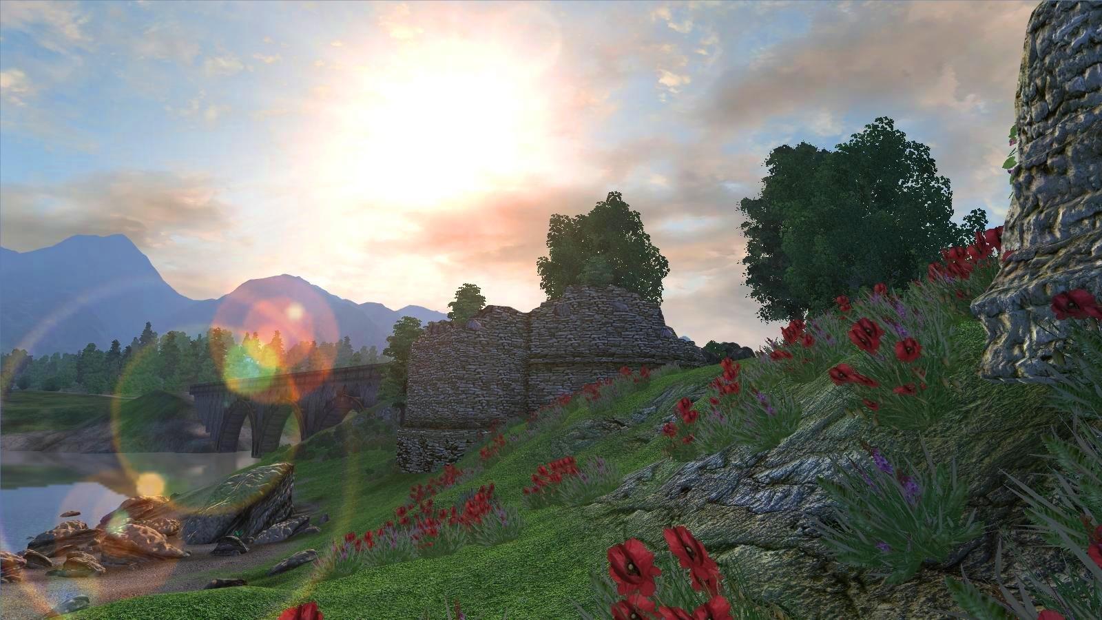 Дневной пейзаж.. OBLIVION (Сборка 4.0)
