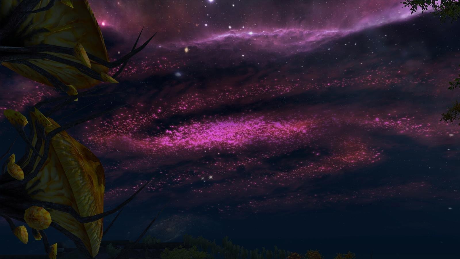 Ночное небо в Мании.. OBLIVION (Сборка 4.0)