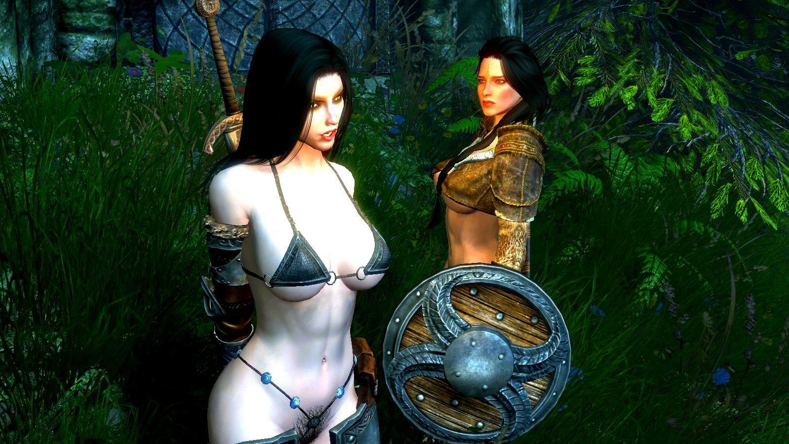 Нора и Рия.. SkyrimSE (сборка 6.0)
