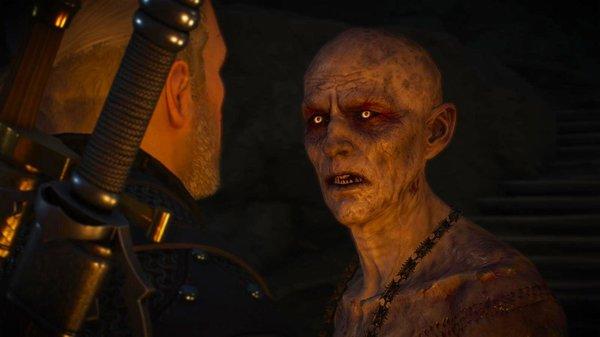 Геральт и Старший вампир.. Ведьмак III (сборка Торна)