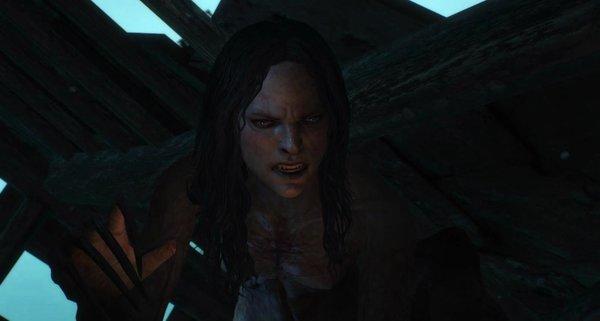 Брукса - вампирша.. Ведьмак III (сборка Торна)