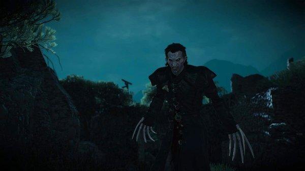 Вампир Дэтлофф.. Ведьмак III (сборка Торна)
