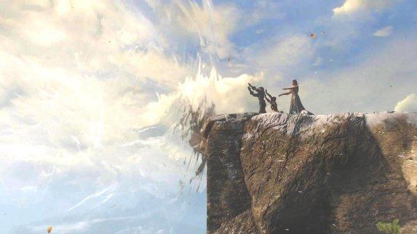 Магический барьер.. Ведьмак III (сборка Торна)