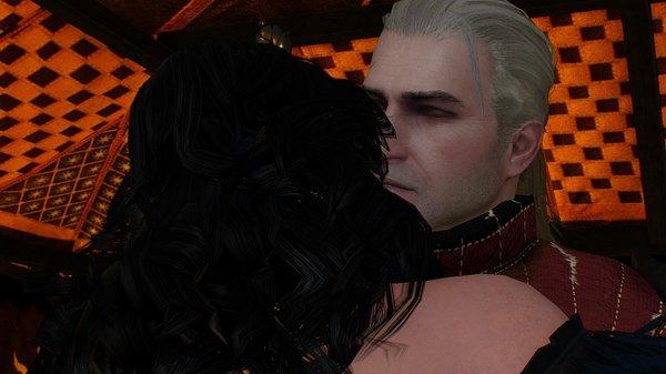 Йенн и Геральт.. Ведьмак III (сборка Торна)