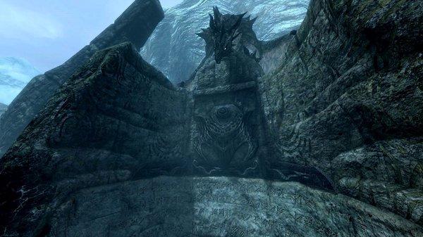 Дракон на стене слов.. SkyrimSE (сборка 6.0)