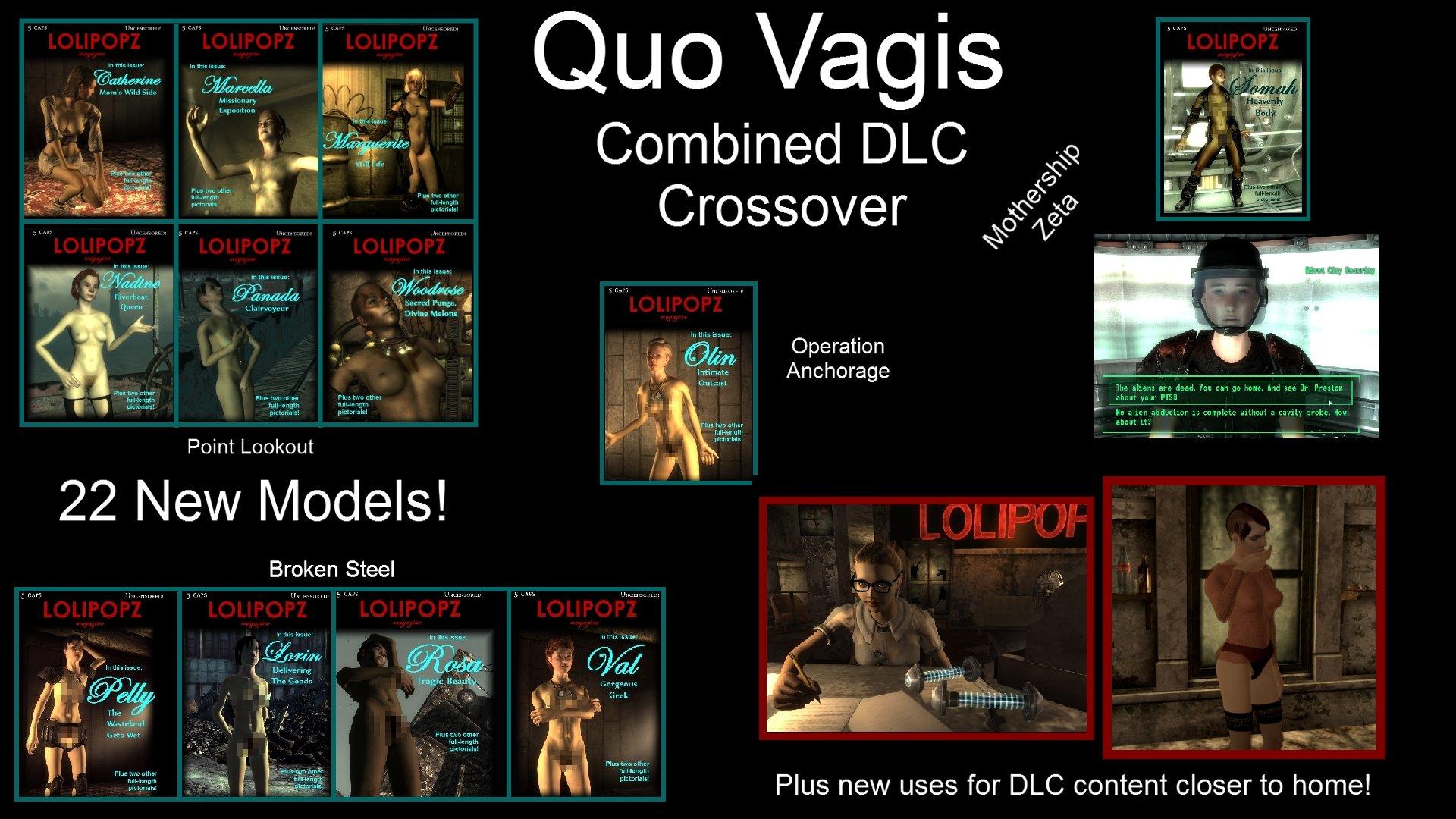 Quo Vagis и Quo Vagis Combined DLC Crossover Rus