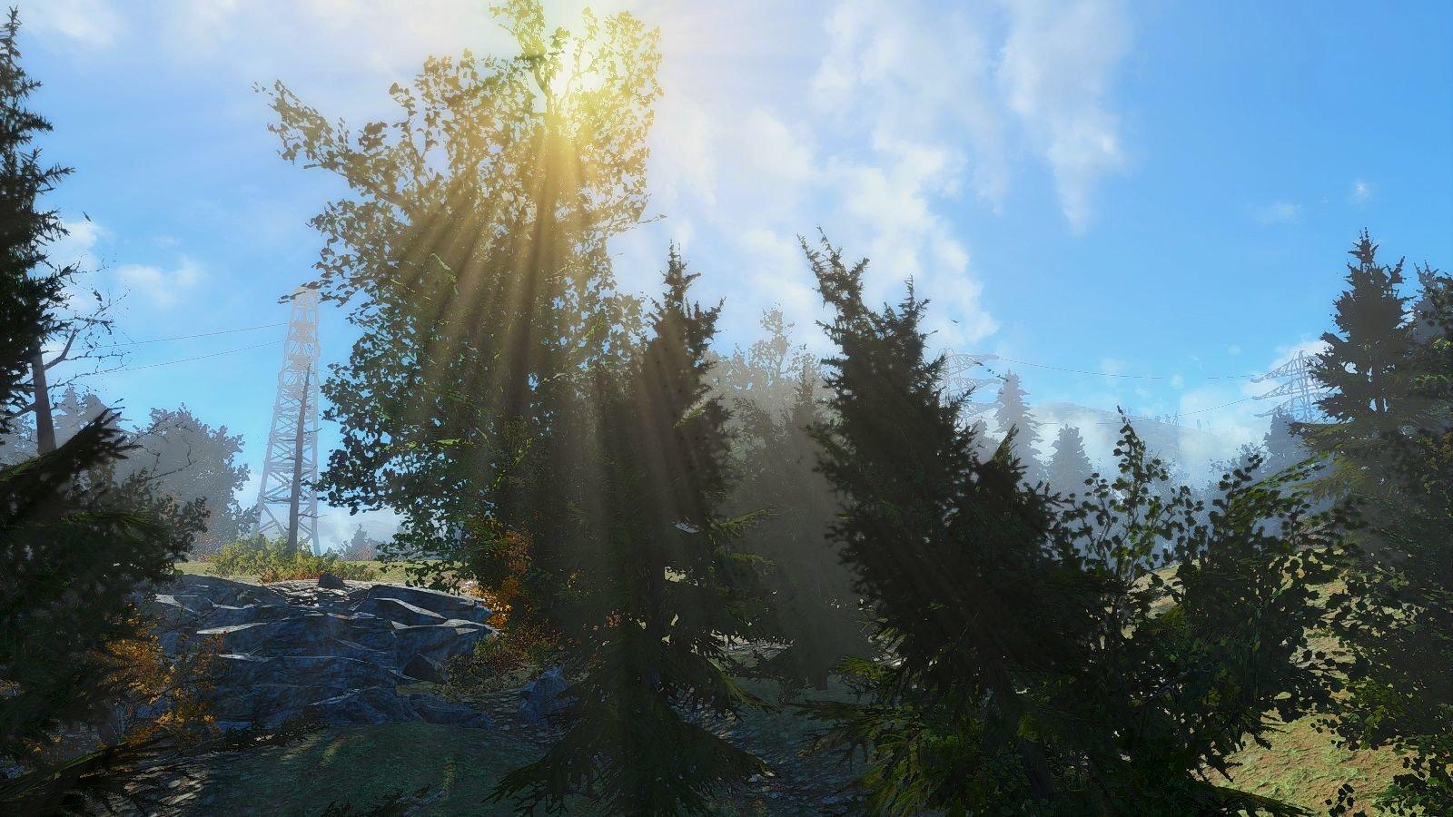 Солнце.. Fallout-4 (Сборка 6.4)