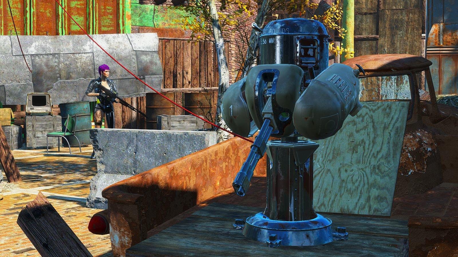 Крупнокалиберное ведерко ) Fallout-4 (Сборка 6.4)