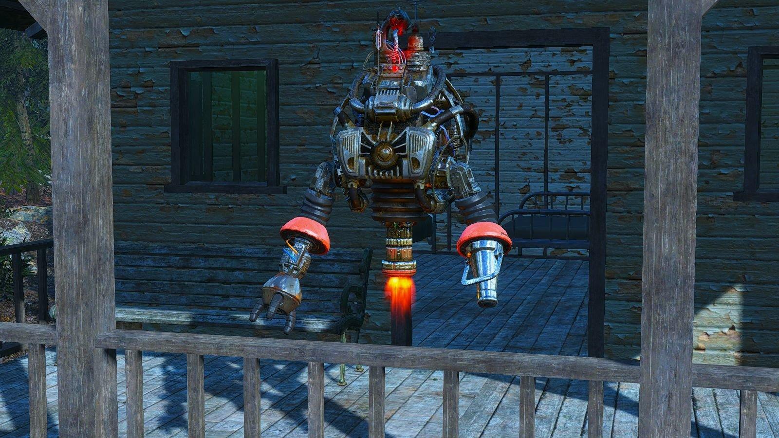Страж поселения.. Fallout-4 (Сборка 6.4)