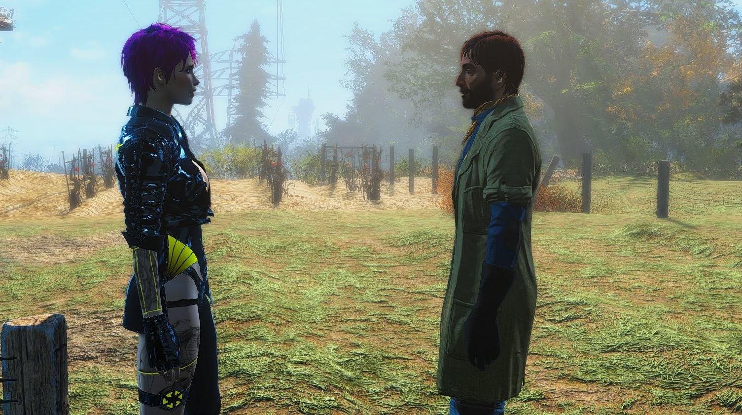 Беседа с Эбернети.. Fallout-4 (Сборка 6.4)