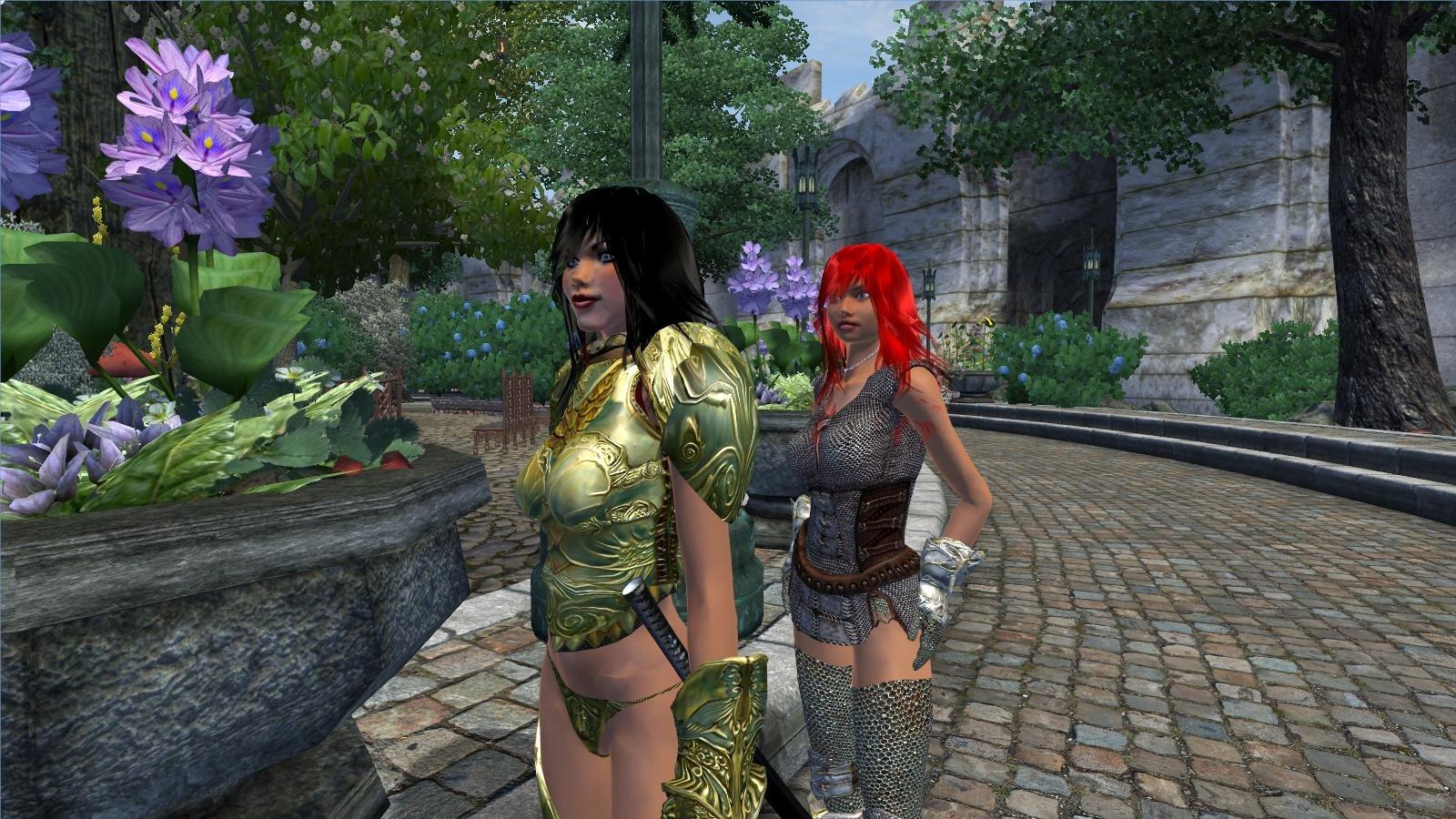 Алисия и Рыжая Соня.. ;) OBLIVION (Сборка 4.0)
