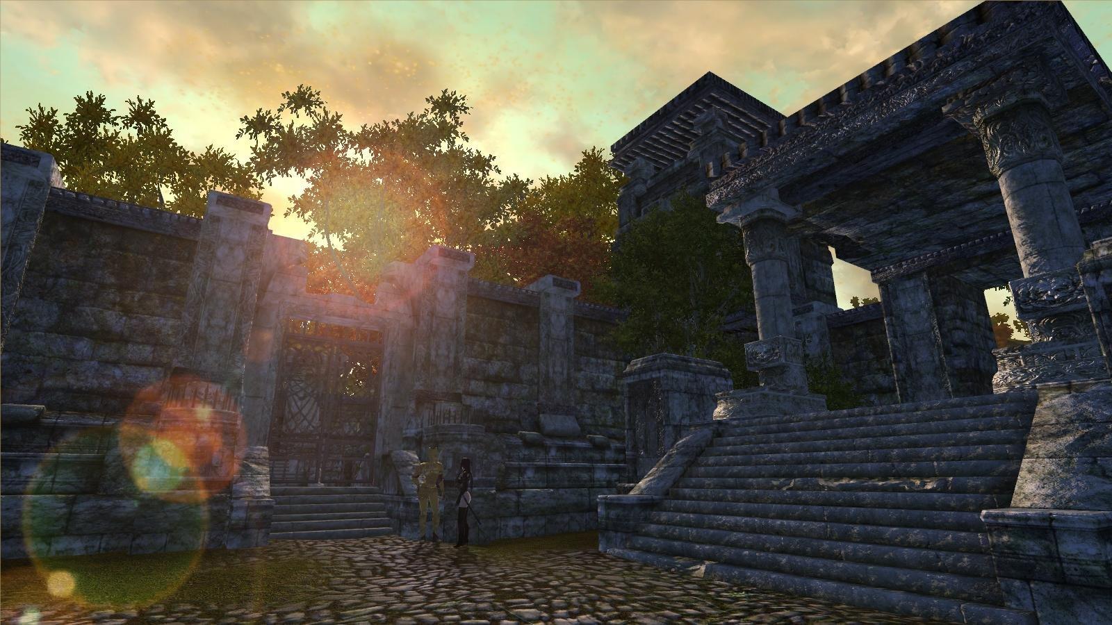 Древняя крепость.. OBLIVION (Сборка 4.0)