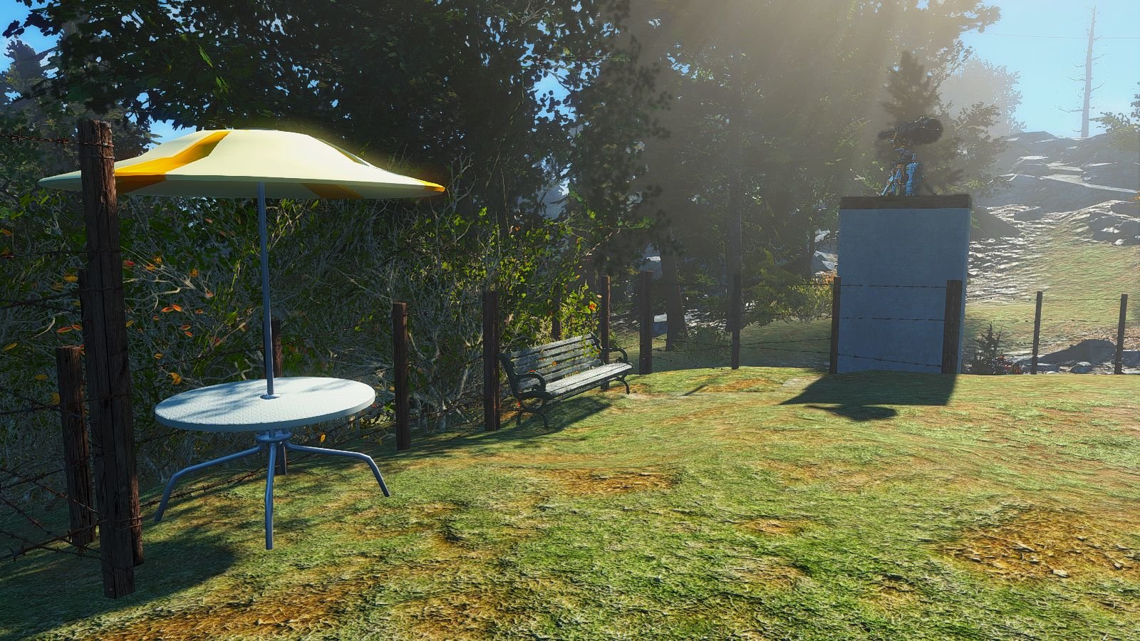 Место для отдыха.. Мои поселения в Fallout-4