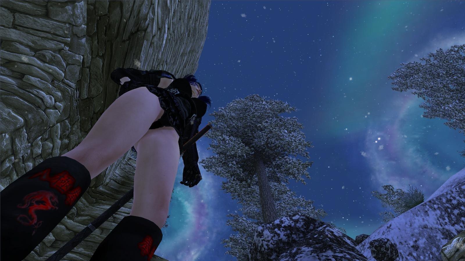Вечернее небо.. OBLIVION (Сборка 4.0)