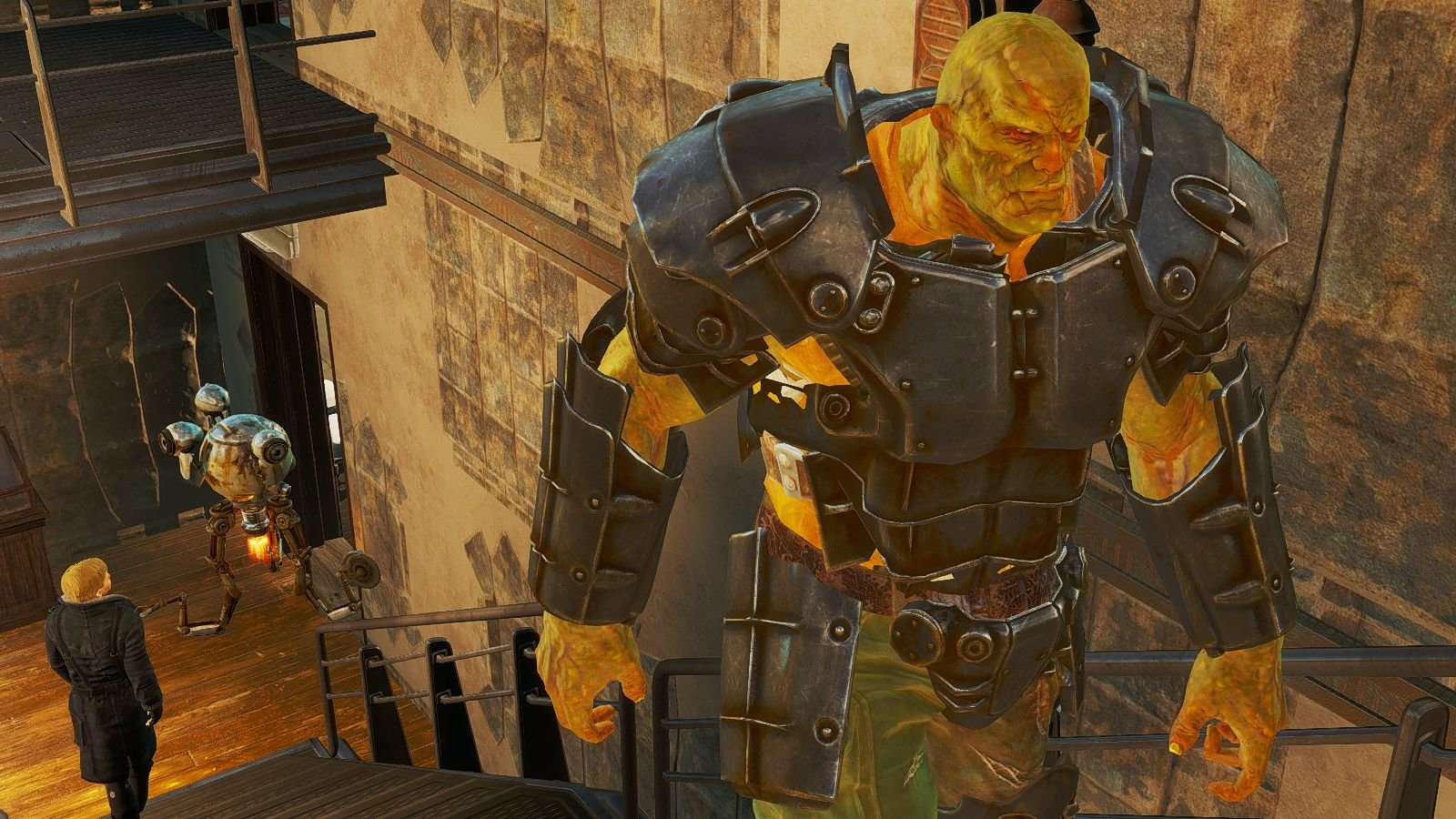 В бункере Братства Золота. Fallout-4 (Сборка 6.4)