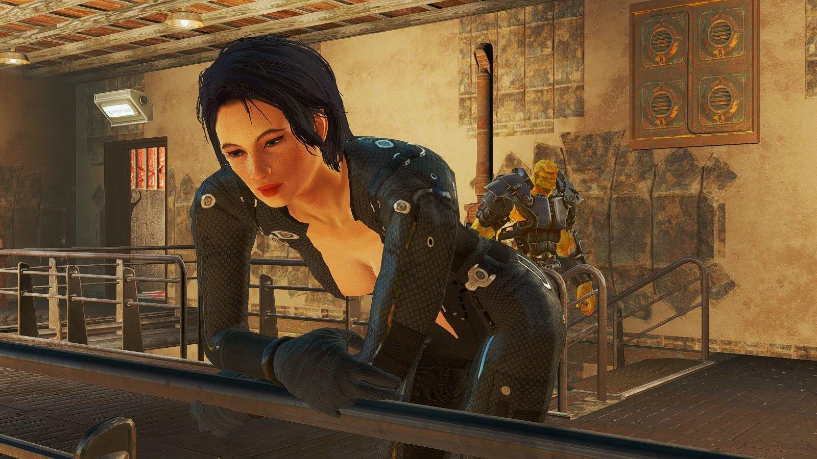 Скриптор Братства Золота.. Fallout-4 (Сборка 6.4)