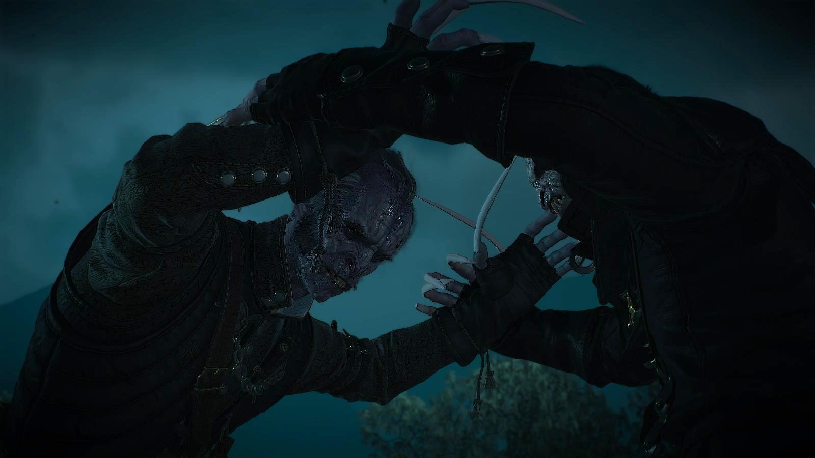 Смертельная схватка.. Ведьмак III (сборка Торна)