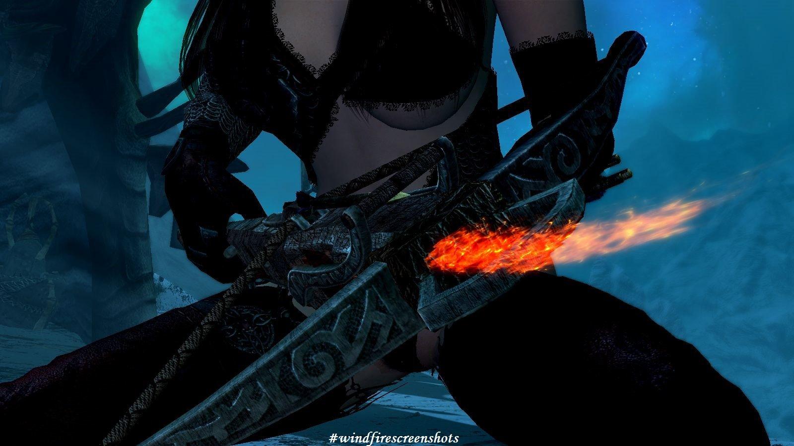 Арбалет с огоньком ;) SkyrimSE (сборка 6.0)