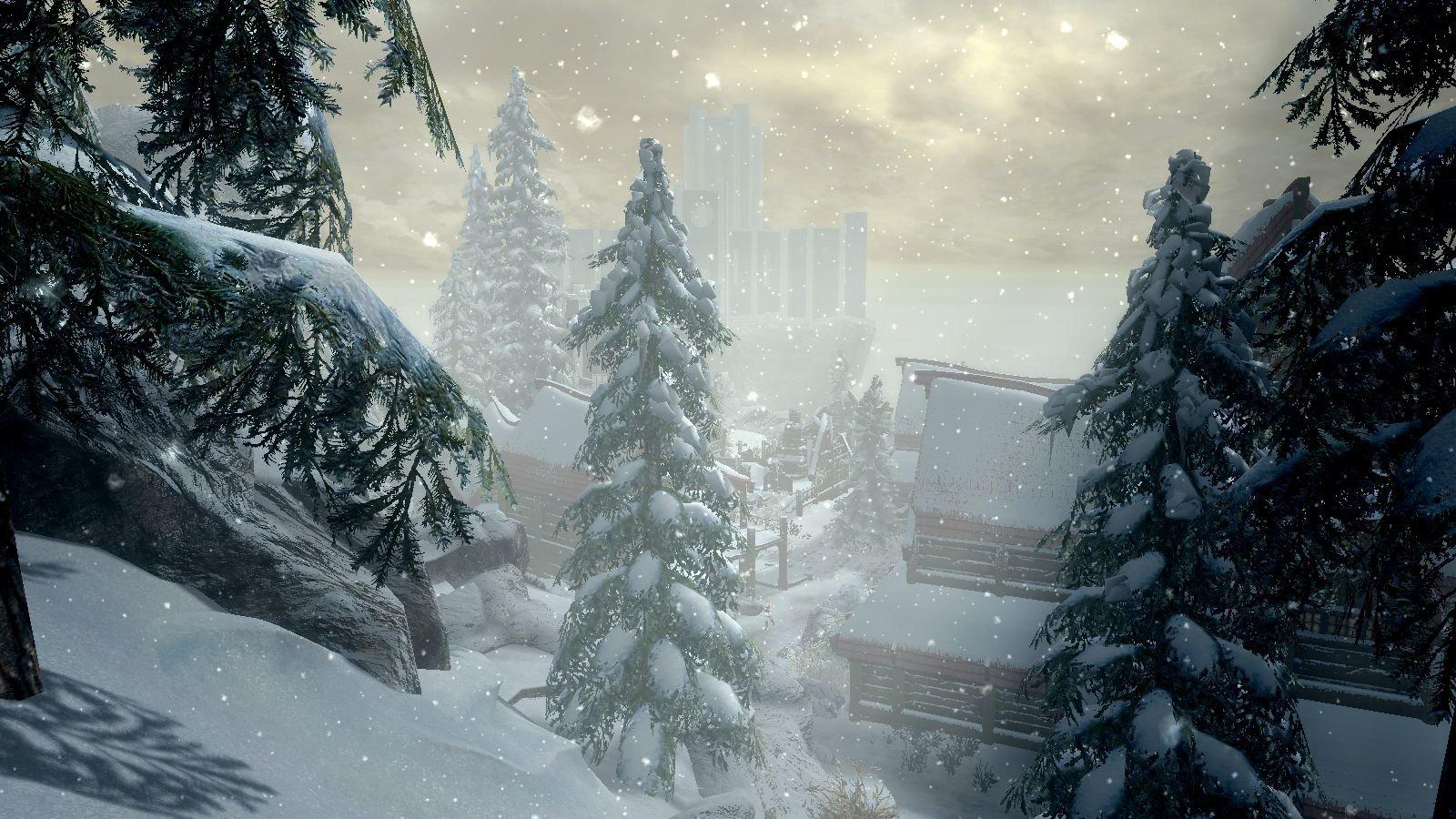 Снежный Винтерхольд.. SkyrimSE (сборка 6.0)