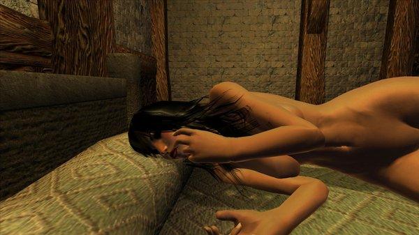 Девица во сне чесалась и ворочилась.. )