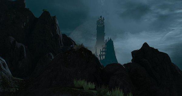 Мрачный пейзаж.. Ведьмак III (сборка Торна)