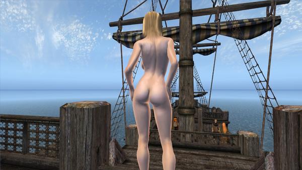 Женщина на корабле...