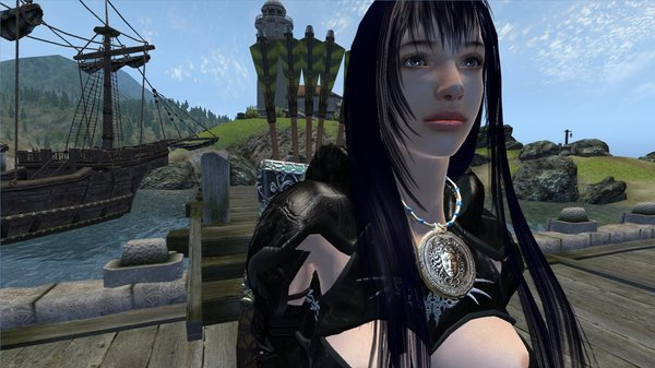 Селена в порту Анвила.. OBLIVION (Сборка 4.0)