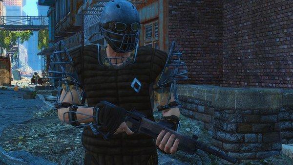Охрана Даймонд Сити.. Fallout-4 (Сборка 6.4)