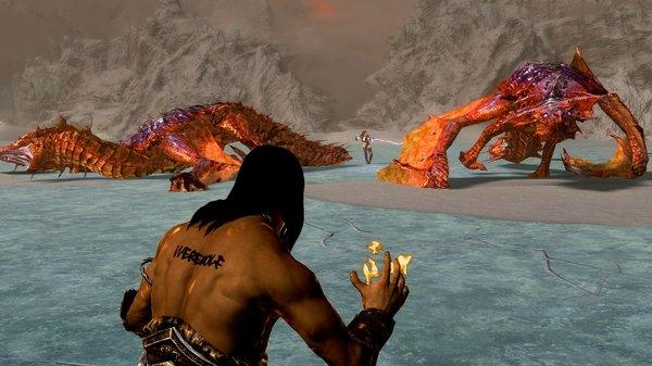 На ужин драконье мясо.. SkyrimSE (сборка 6.0)