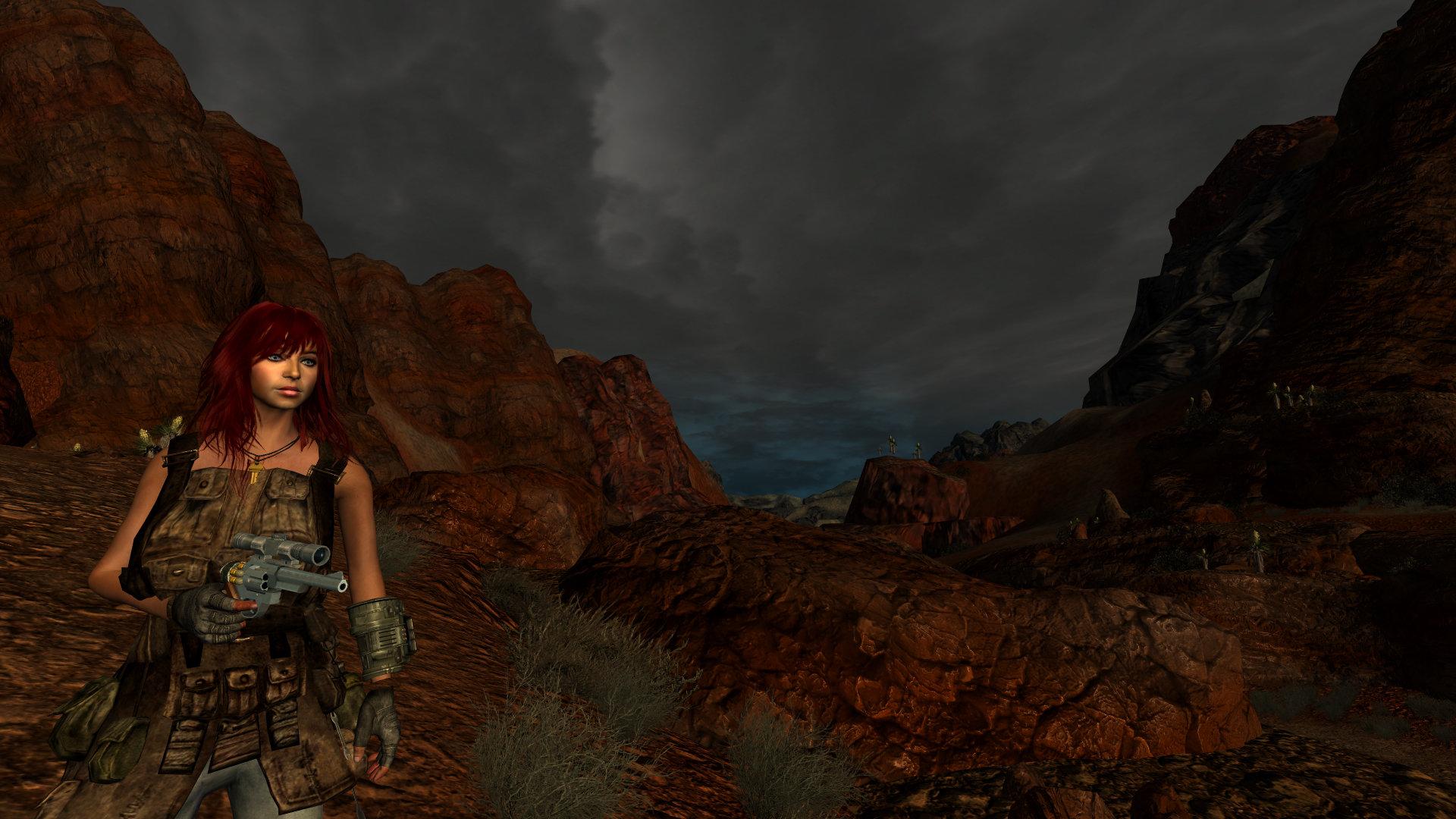 А в каньоне Ред-Рок прекрасная погода...