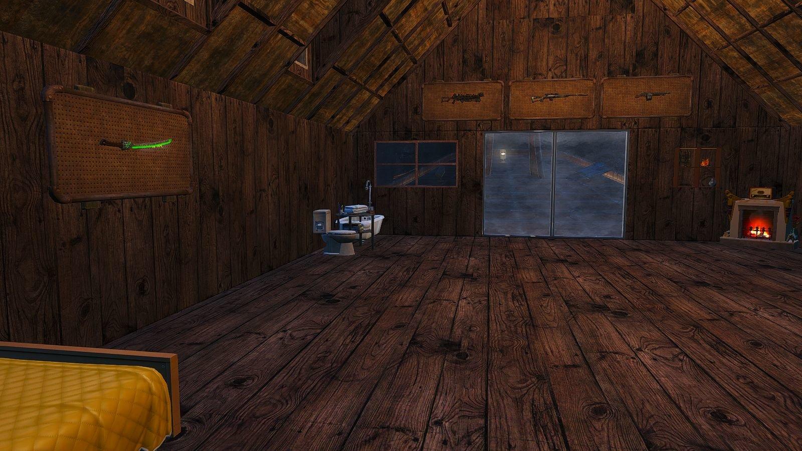 Уютно - дома в Кр.Ракете.. Fallout-4 (Сборка 6.4)