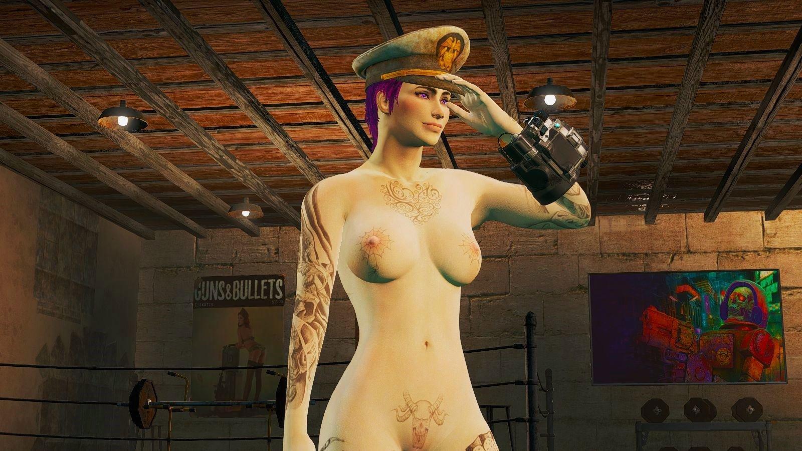 Ева: все дело в шляпе! ;) Fallout-4 (Сборка 6.4)