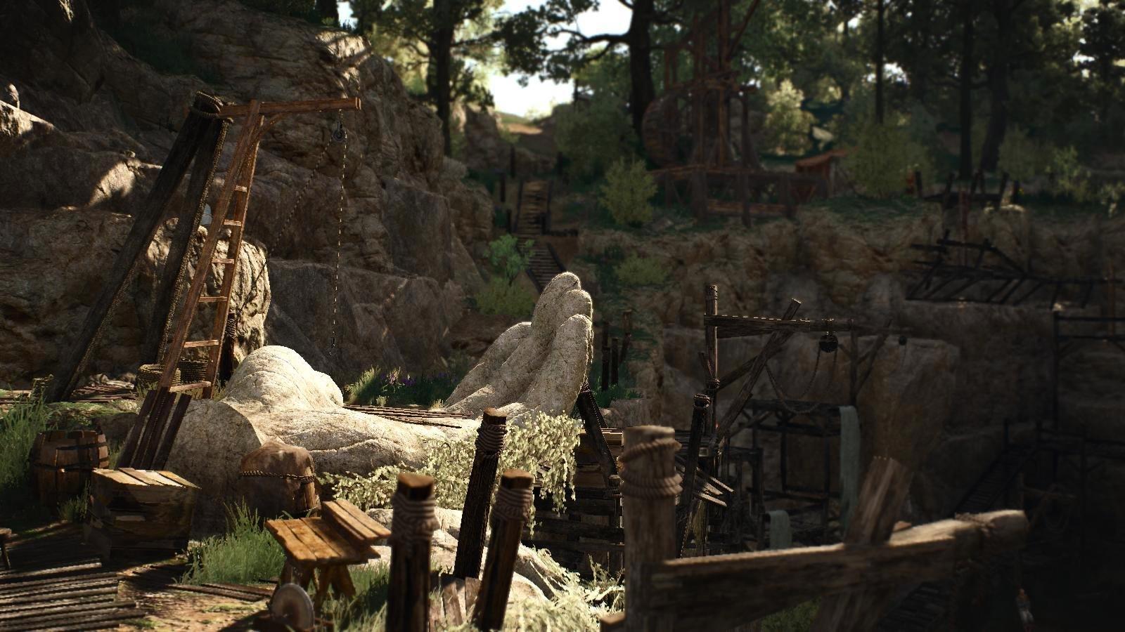 Каменоломня.. Ведьмак III (сборка Торна)