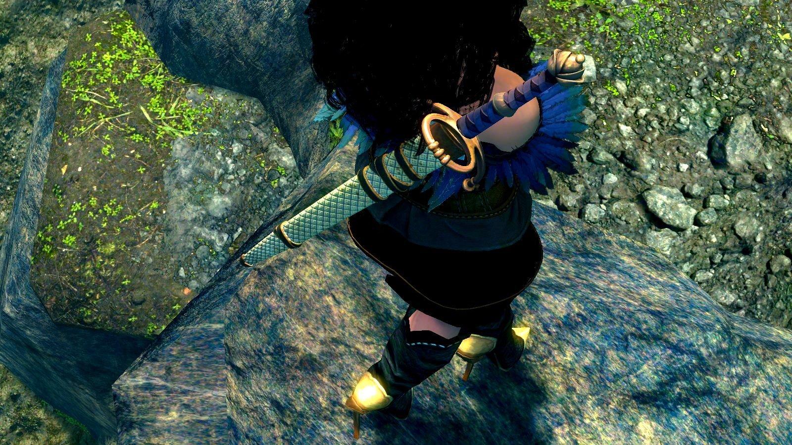 Любимый меч Йен в моём Скайрим ;)