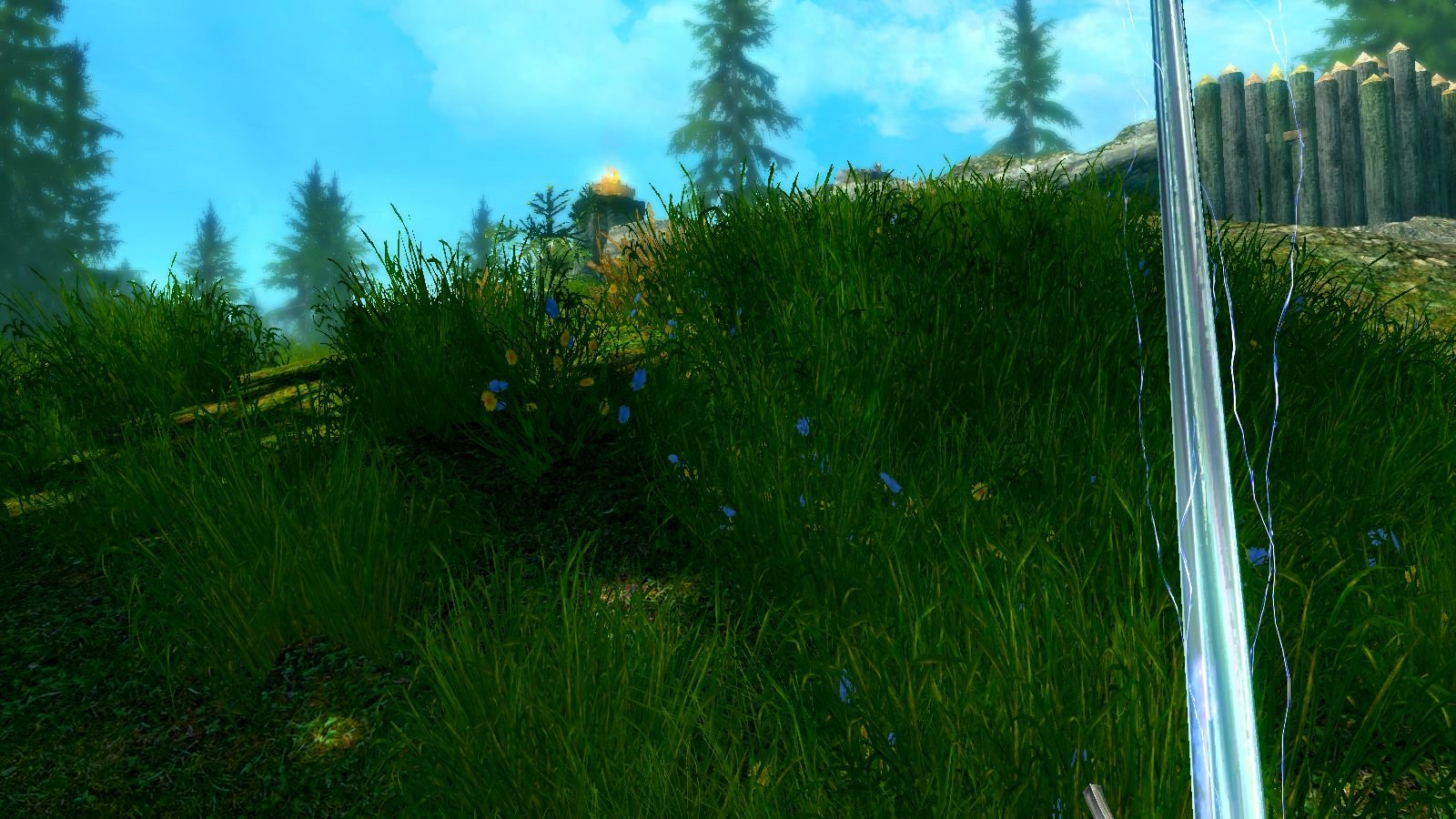 Кто там за травой? SkyrimSE (сборка 6.0)