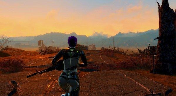 Бегом по пустошам Ядер мира. Fallout-4 (Сборка 6.4)