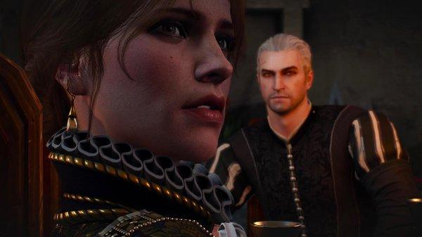 Княгиня и Геральт. Ведьмак III (сборка Торна)