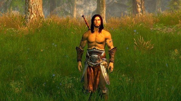 ЭЙРАН в траве.. SkyrimSE (сборка 6.0)