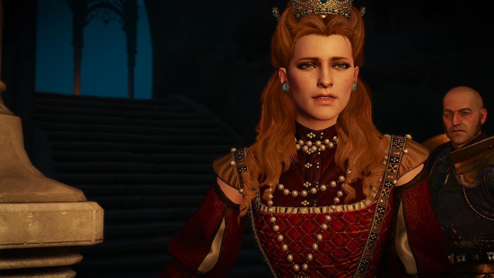 Анна Генриетта.. Ведьмак III (сборка Торна)