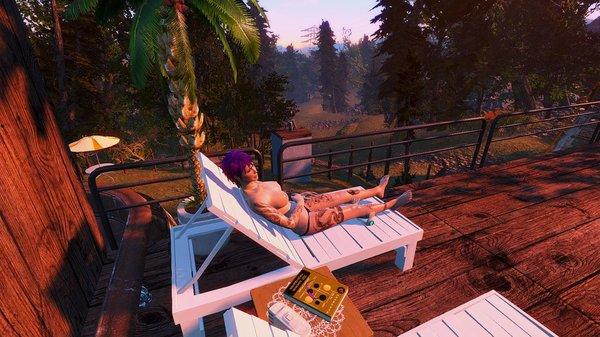 Отдых после работы.. Fallout-4 (Сборка 6.4)