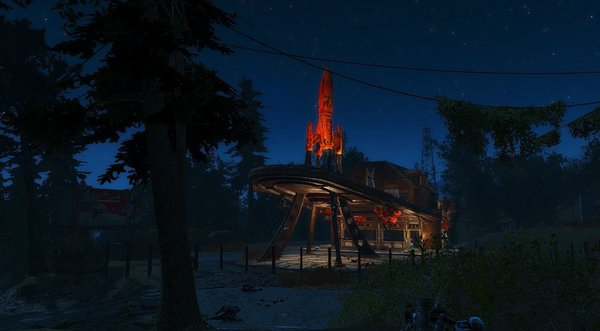 Любимая дача в Red Focket.. Fallout-4 (Сборка 6.4)